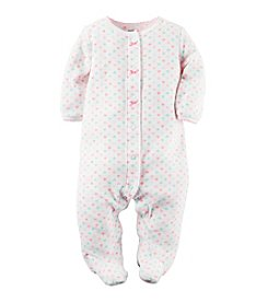 Carter's® Baby Girls' Heart Footie