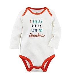 Carter's® Baby Boys Love My Grandma Bodysuit