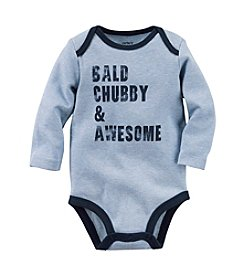 Carter's® Baby Boys Bald, Chubby & Awesome Bodysuit