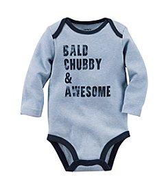Carter's® Baby Boys Bald, Chubby & Awesome Bodysuit