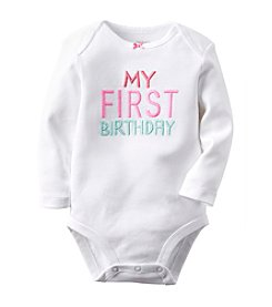 Carter's® Baby Girls' My First Birthday Bodysuit