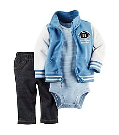 Carter's® Baby Boys 3-Piece Varsity Jacket Set