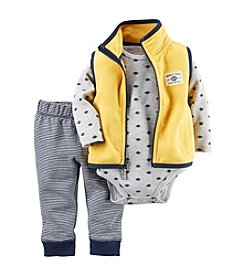 Carter's® Baby Boys 3-Piece Football Vest Set