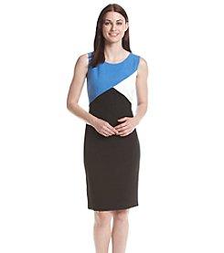 Kasper® Crepe Sheath Dress