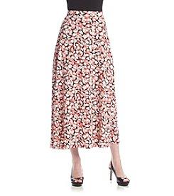 Kasper® Layered Dot Skirt
