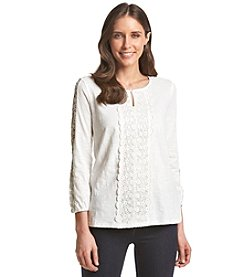 Adiva Lace Embroidered Top