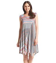 Chelsea & Theodore® Scoop Neck High-Low Dress