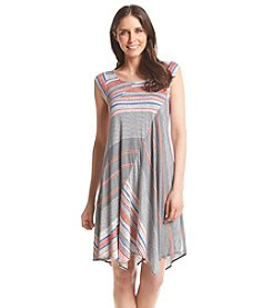 Chelsea & Theodore® Scoop Neck High-Low Dress