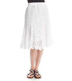 Chelsea & Theodore® Lace Pull On Skirt