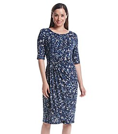 Connected® Ruched Sheath Dress