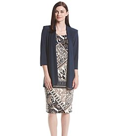 R&M Richards® Paisley Jacket Dress