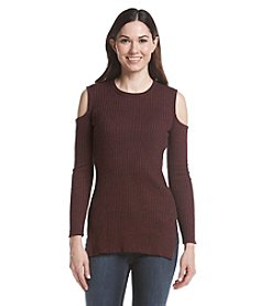Ruff Hewn GREY Open Shoulder Sweater