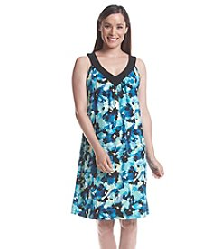Notations® Sleeveless V-Neck Dress