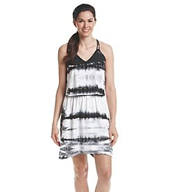 Marc New York Performance Tie-Dye Layered Dress