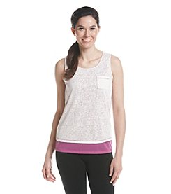 Marc New York Performance Cross Back Multi Layer Tank