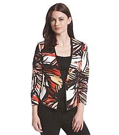 Kasper® Floral Twill Jacket