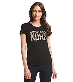 MICHAEL Michael Kors® Zebra Logo Tee