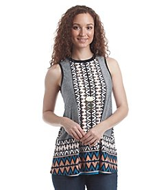AGB® Multi Print Swing Tank With Necklace