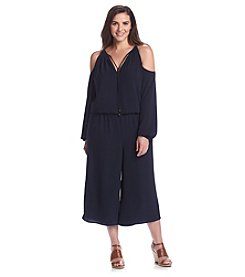 MICHAEL Michael Kors® Plus Size Cold Shoulder Jumpsuit