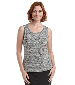 Laura Ashley® Tic Tac Printed Tank