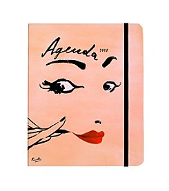 kate spade new york® Read My Lips Cover Large Spiral Notebook