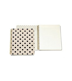 kate spade new york® So Well Composed Deco Dots Large Spiral Notebook