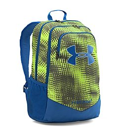 Under Armour® Scrimmage Blue and Green Backpack