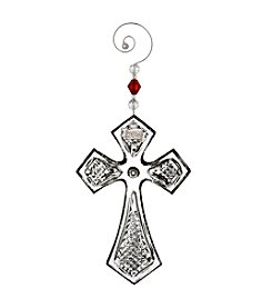 Waterford® Cross Ornament