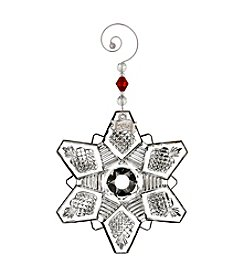 Waterford® Snowcrystal Pierced Ornament