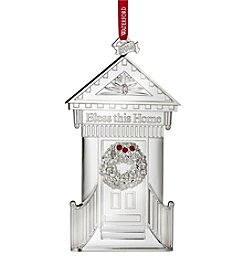Waterford® Bless This Home Metal Ornament