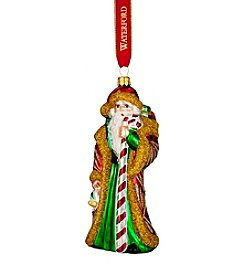 Waterford® Candy Cane Santa Ornament