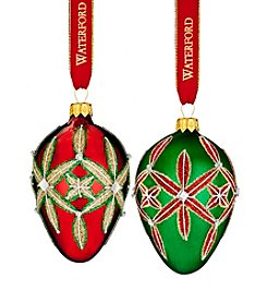 Waterford® Lismore Egg Ornaments
