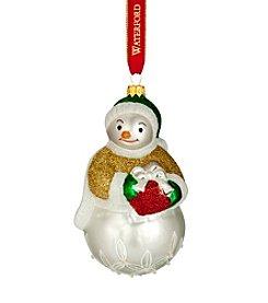 Waterford® Lismore Leslie Snowman Ornament