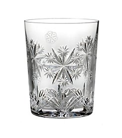 Waterford® Snowflake Wishes Serenity Double Old Fashioned Glass