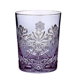 Waterford® Snowflake Wishes Prestige Serenity Double Old Fashioned Glass