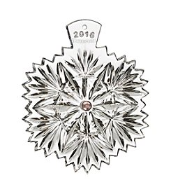 Waterford® 2016 Snowflake Wishes Ornament