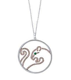 Effy® Signature Collection 0.47 Ct. T.W. Diamond Pendant In 14K White Gold