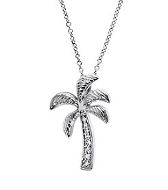 Effy® White Gold Palm Tree Pendant