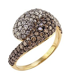 Effy® Espresso Collection 1.74 Ct. T.W. Diamond Ring In 14k Yellow Gold