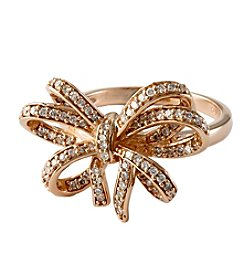 Effy® Pave Classica Collection 0.45 Ct. T.W. Diamond Ring In 14K Rose Gold