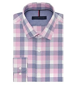 Tommy Hilfiger® Men's Buffalo Plaid Long Sleeve Dress Shirt