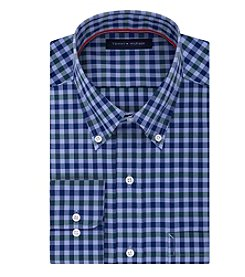 Tommy Hilfiger® Men's Checked Long Sleeve Button Down Dress Shirt
