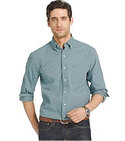 Izod® Men's Long Sleeve Solid Essential Button Down