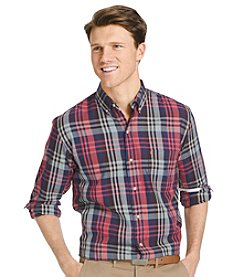 Izod® Men's Long Sleeve Twill Button Down Shirt