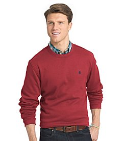 Izod® Men's Long Sleeve Advantage Crew Neck Fleece Sweater