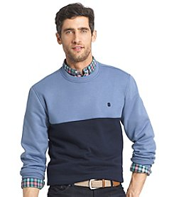 Izod® Men's Long Sleeve Stretch Advantage Fleece Sweater