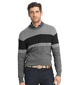Izod® Men's Long Sleeve Colorblock Sweater