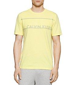 Calvin Klein Men's Printed Short Sleeve Tee
