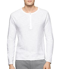 Calvin Klein Jeans® Men's Long Sleeve Henley