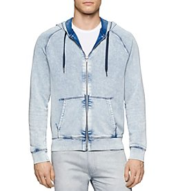 Calvin Klein Jeans® Men's Acid Wash Full Zip Hoodie